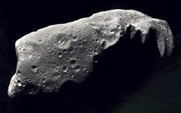 Imagem de um meteoroide