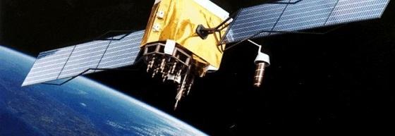 Imagem de um satélite artificial