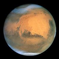 Superfície do planeta Marte