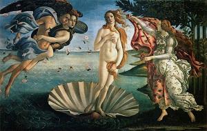 Obra de Sandro Botticelli, Nascimento de Vênus